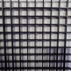 Egg Crate Black (Full Sheet) 4ft x 2ft