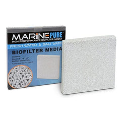 "CerMedia Marine Pure Bio Filter Media 8x8x1"" Plate"