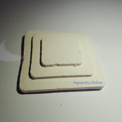 "Salty Ceramics Frag Tile Step 2""- White"