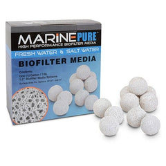 "CerMedia Marine Pure Bio Filter Media 1.5"" Sphere 3.8L"