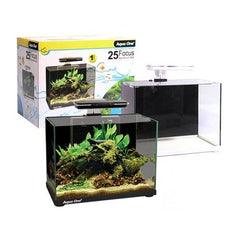 Aqua One Focus 25 LED Glass Aquarium Black