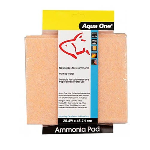 Aqua One Ammonia Pad Self Cut Filter