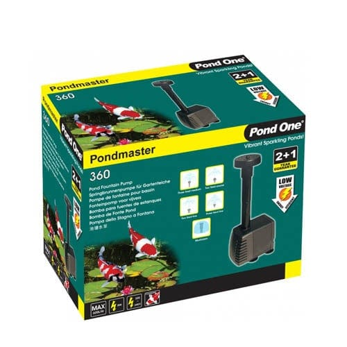 Pond One Pondmaster 360 Fountain Pump