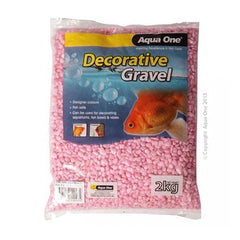 Aqua One Gravel Metallic Pink 2kg