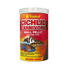 Tropical Cichlid Carnivore Small Pellet 1000ml 360g