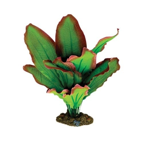 Aqua One Silk Plant - Amazon Red Green S 13cm