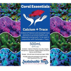 Coral Essentials Part A - Calcium + Trace A & B 500ml