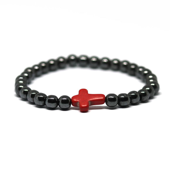 Cross Hematite (Black-Red)