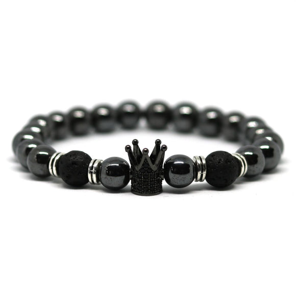 Crown Hematite (Black)