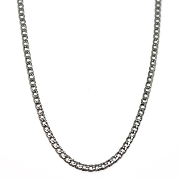 Hip Hop Chain Silver (4mm)