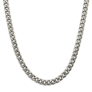 Hip Hop Chain Silver (8mm)