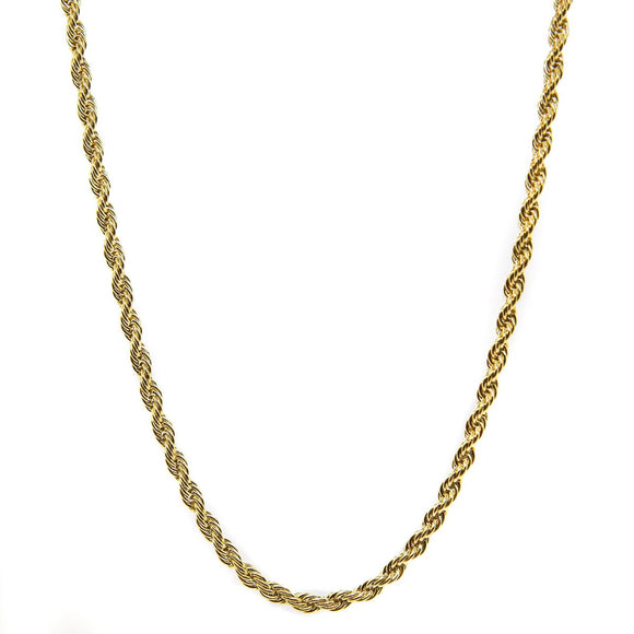 Snake Chain 4mm (Gold)