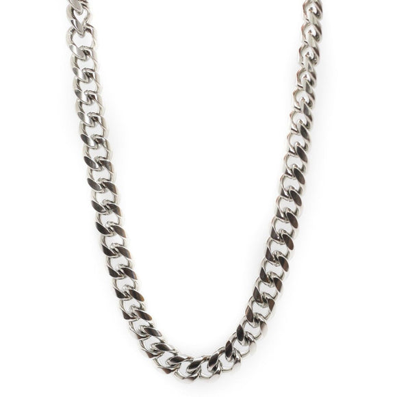 Hip Hop Chain Silver (11mm)