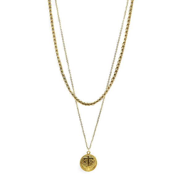 Constantinato Double Chain I (Gold)