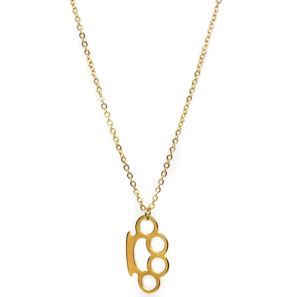 Brass Knuckles Gold (Chain)
