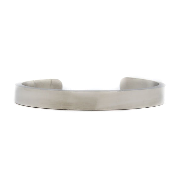 Cuff Silver 8mm (Stainless)