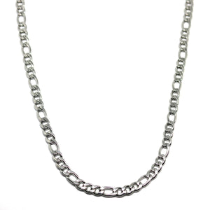 Figaro Chain 4 mm ( Silver )