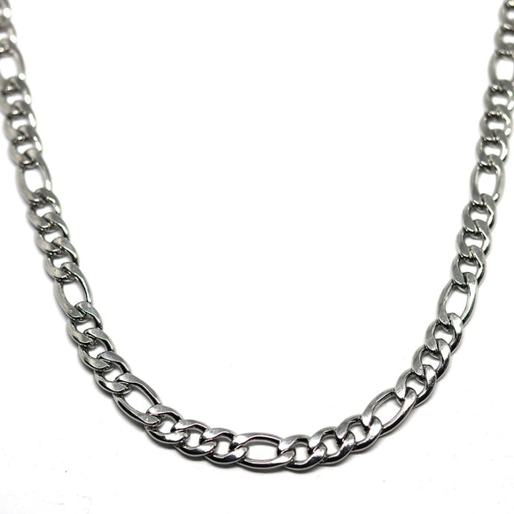 Figaro Chain 7 mm ( Silver )