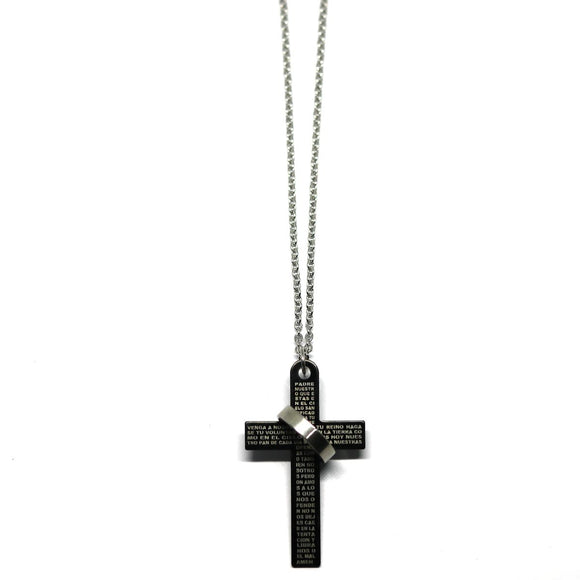 Cross Big Chain (Black)