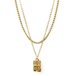 Constantinato Double Chain III (Gold)