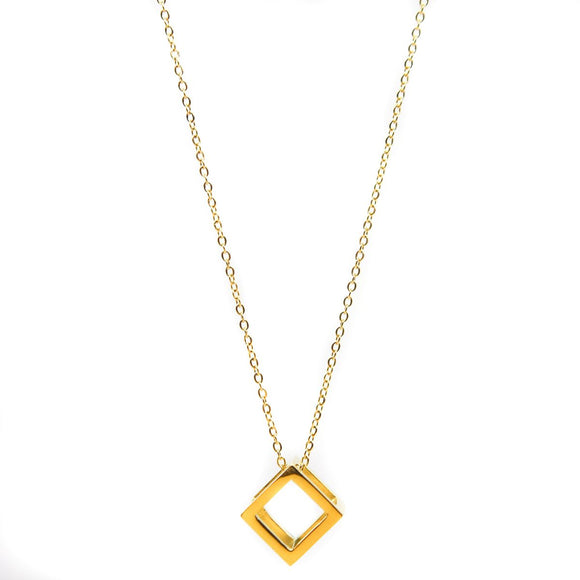 Cube Chain (Gold)