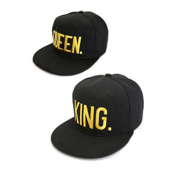 King & Queen Set (Yellow Letters)