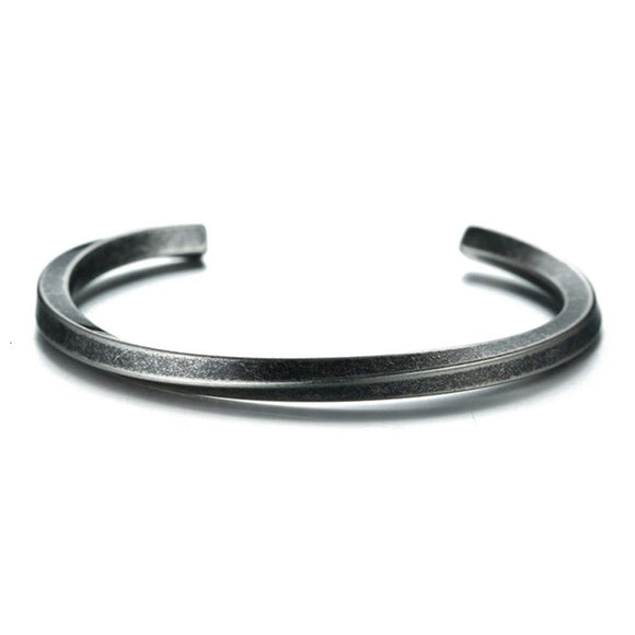 Cuff Curve Antique (Stainless)