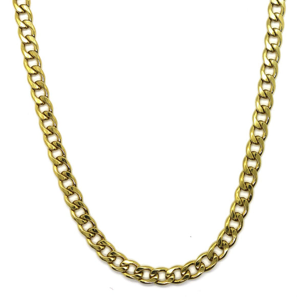 Hip Hop Chain Gold (6mm)