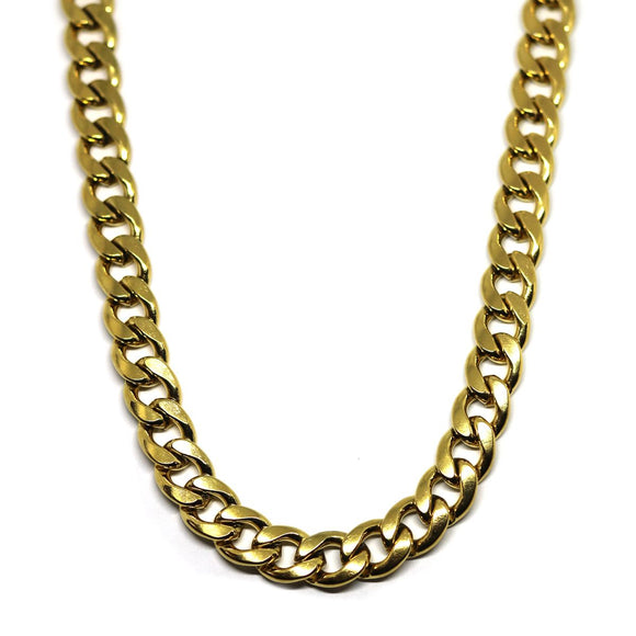 Hip Hop Chain Gold (8mm)