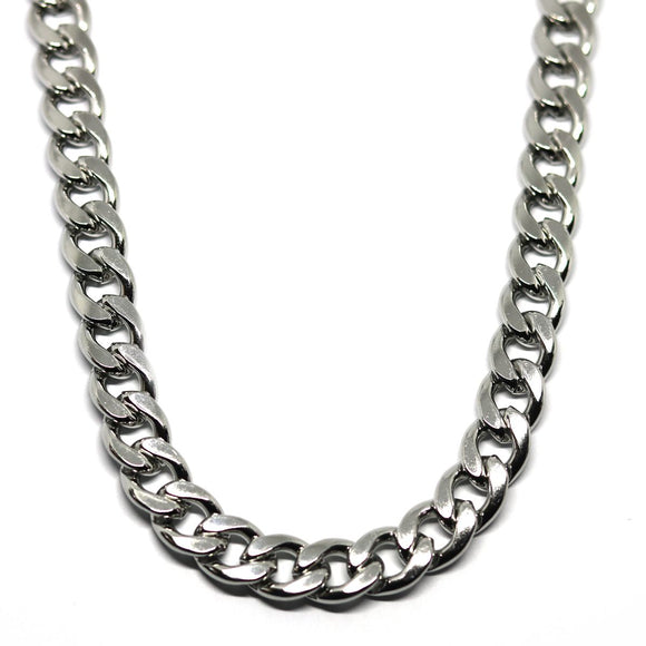 Hip Hop Chain Silver (10mm)