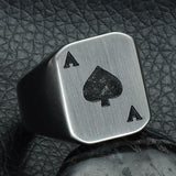 Poker Card (Stainless)