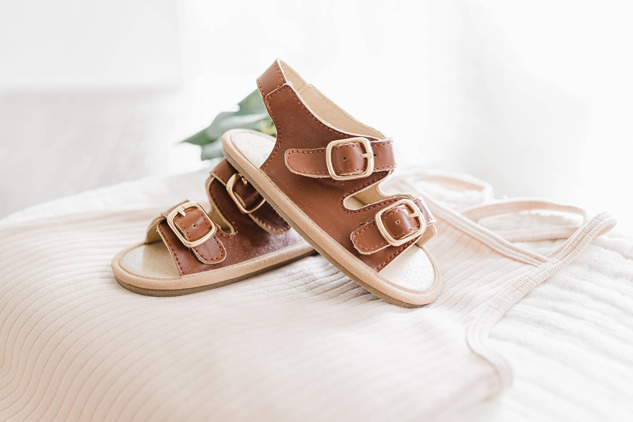 Little Love Bug Company - Brown Charley Sandal