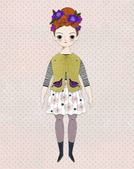 Of Unusual Kind - FLORENCE PAPER DOLL KIT