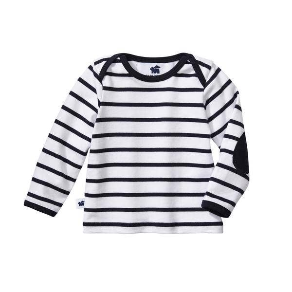 Long Sleeve Everywhere Tee - Navy Stripe