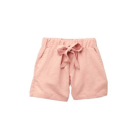 blush bermuda shorts