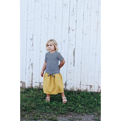 marigold long skirt
