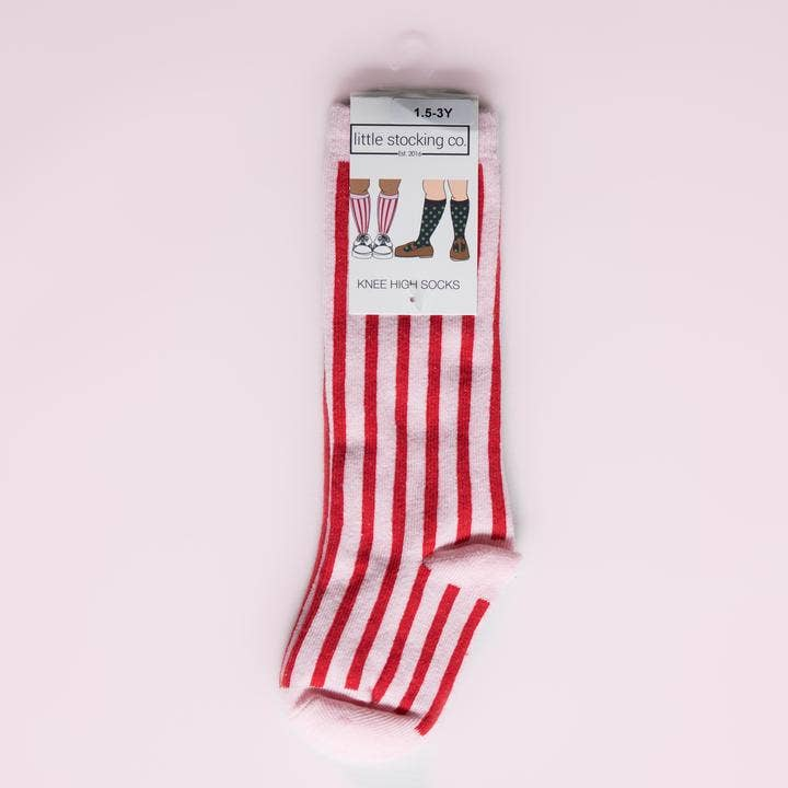Little Stocking Co. - Candy Stripe Knee Highs