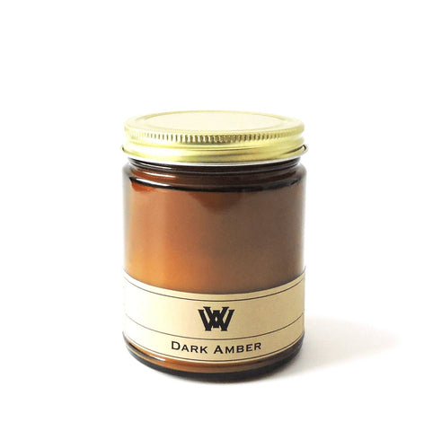 W.V. Candle Co. - 7.2 oz Dark Amber Soy Candle