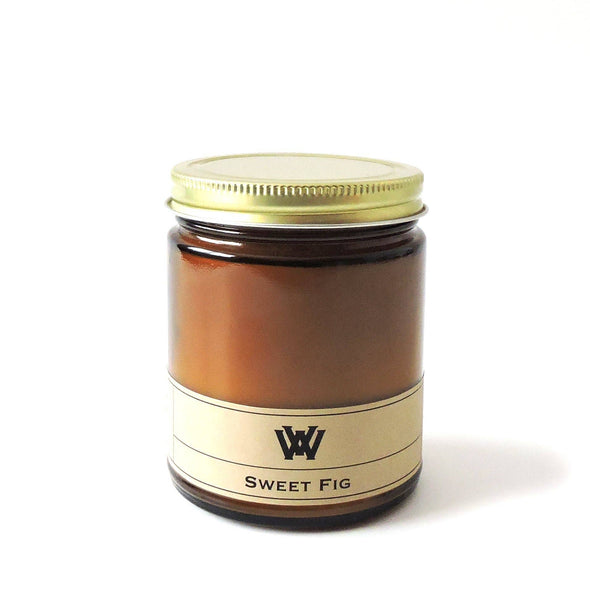 W.V. Candle Co. - 7.2 oz Sweet Fig Soy Candle