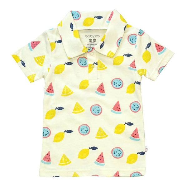 fruits polo tee