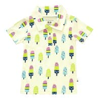 organic popsicles polo tee