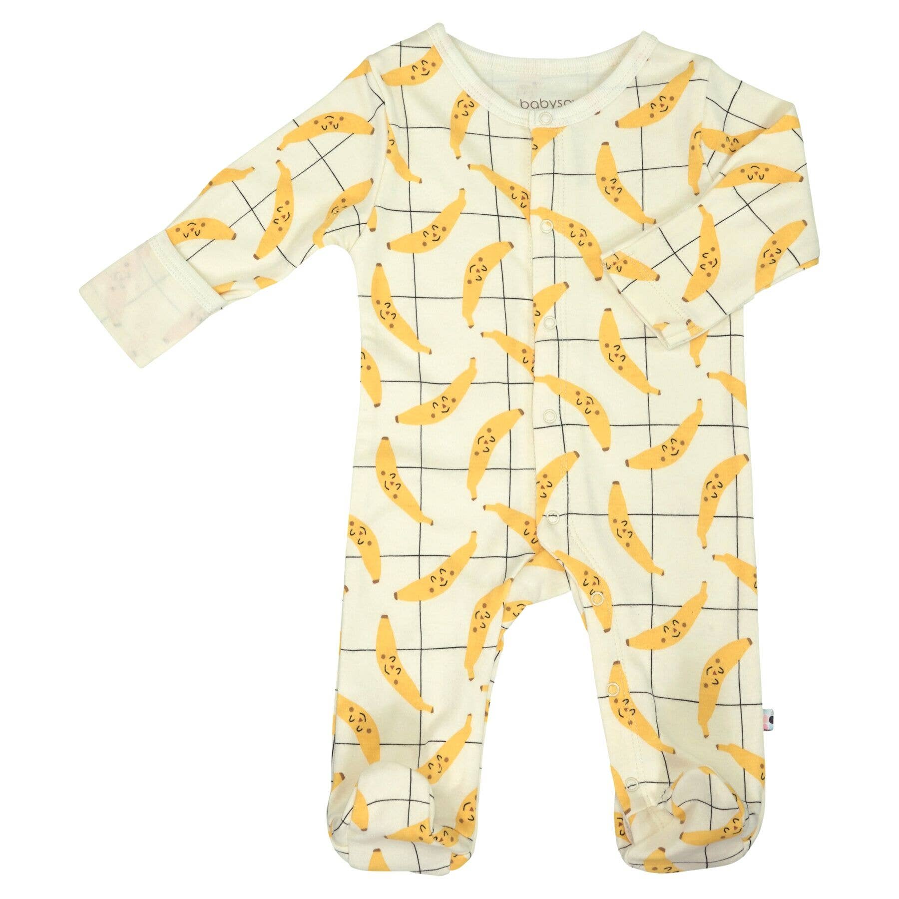 organic banana footies