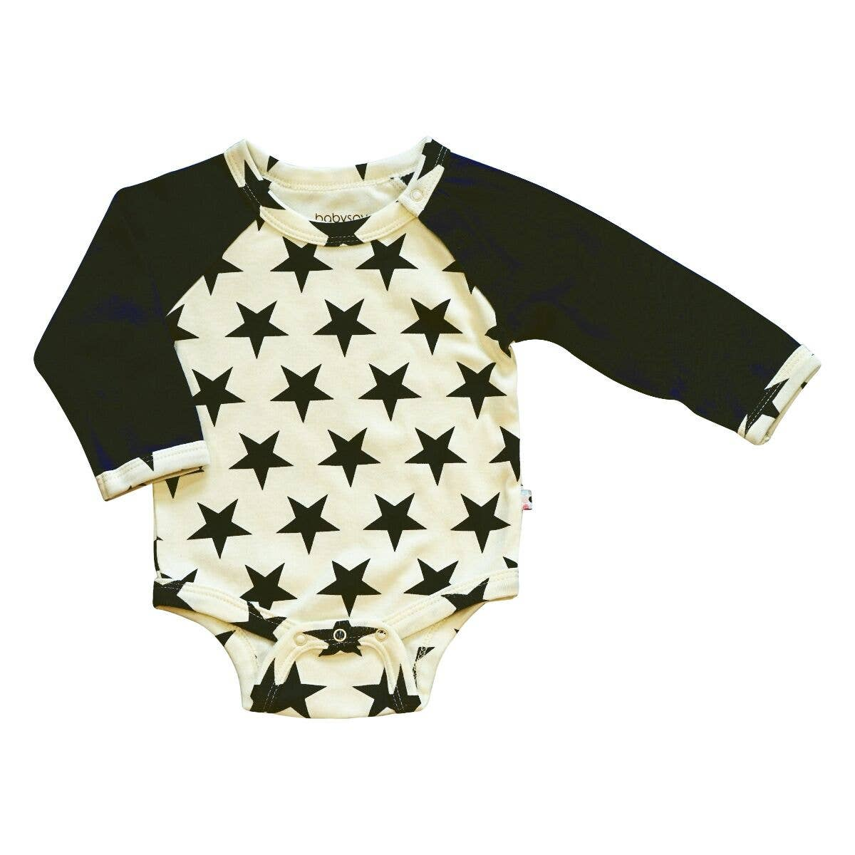 Organic Black All Star Bodysuit