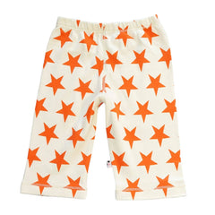 Organic Persimmon Star Comfy Pants