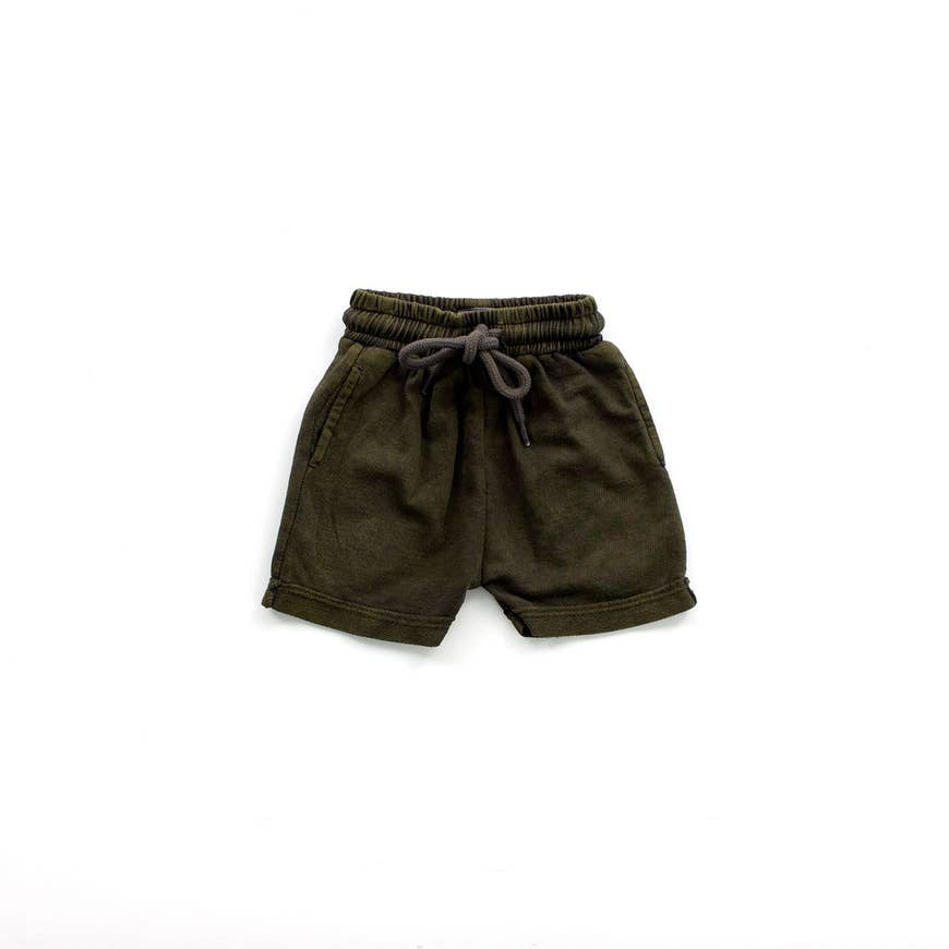 charcoal drawstring short- last one! 2T