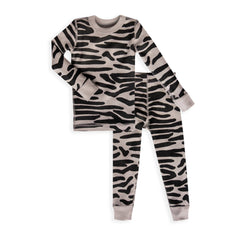 Zebra Long Sleeves Pajamas