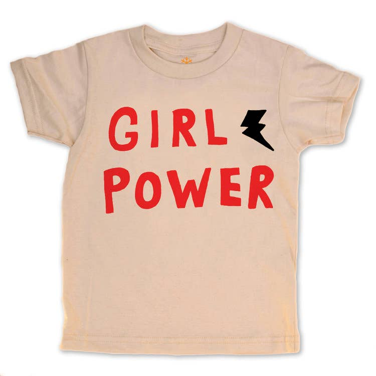 girl power organic tee