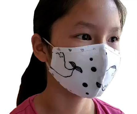 kids face masks, 6+