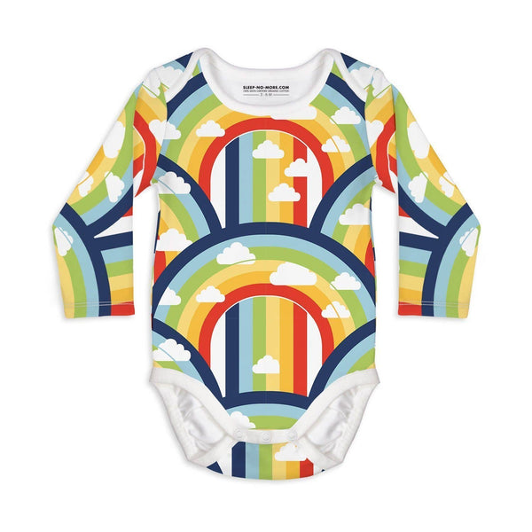 somewhere over the rainbow l/s bodysuit