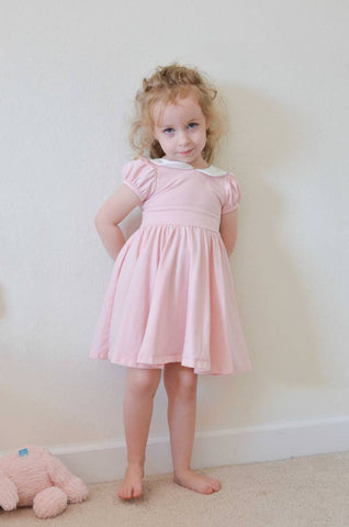 peter pan peony twirl dress